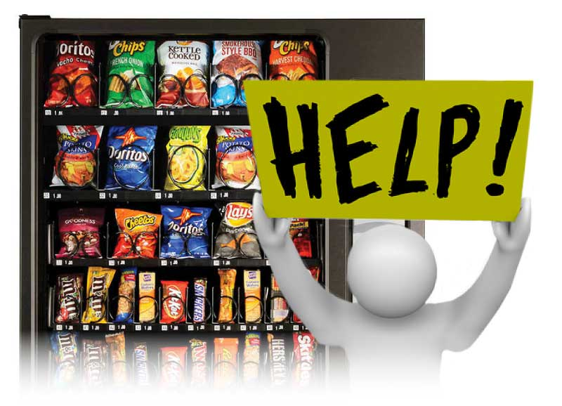 Servomat Vending Service can help with maintenance, service and repair of vending machines in Colorado